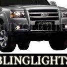 2004-2009 Ford Ranger LED Fog Lamps Lights 05 06 07 08