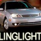 05-07 FORD FOCUS BLUE LED FOG LAMPS lights 06 c-max