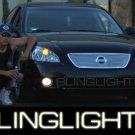 2005-2006 Nissan Altima Halo Fog Lamps lights 05 06 hid