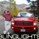 1994-2009 Dodge Ram Xenon Fog Lamps lights 2006 2007 05