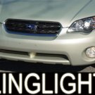 96-08 Subaru Outback White Halo Fog Lamps lights 06 07