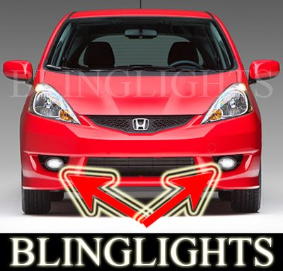 2007-2009 Honda Fit Xenon Fog Lamps lights 07 08 sport