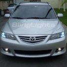 2003-2009 Mazda6 Fog Lamps kit lights 05 06 07 mazda 6