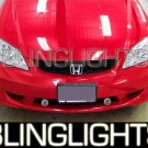 2000-2005 Honda Civic Fog Lamps lights 01 02 03 04