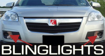 2007 2008 Saturn Outlook Fog Lamps lights xe xr 07 08