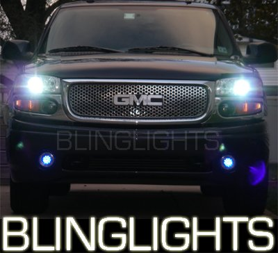 01-08 GMC Yukon 9000K LED Fog Lamps Lights xl 04 05 06