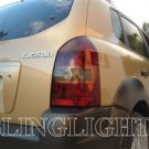 2004-2009 HYUNDAI TUCSON TAILLIGHT TAILLAMP TAIL LIGHTS LAMPS LAMP TINT FILM 2005 2006 2007 2008