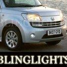 2006-2008 DAIHATSU MATERIA TAILLIGHTS LAMP TINT SMOKE auto 2007