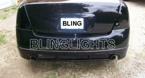 2002 2003 2004 2005 2006 NISSAN ALTIMA TAIL LIGHTS LAMPS TAILLIGHTS  TAILLAMPS TINT 02 03 04 ...