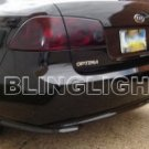 2006-2008 KIA OPTIMA TAILLIGHTS TAILLIGHT TAILLAMP TINT TAILLAMPS TAIL LIGHTS LAMPS 2006.5 2007 2008