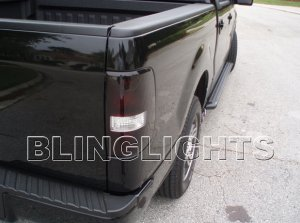 FORD F-350 F350 TAILLIGHT TINT TAILLAMP SMOKE TAILLIGHTS TAILLAMPS TAIL LIGHT LIGHTS LAMP LAMPS