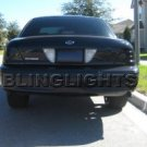 FORD CROWN VICTORIA TAILLIGHT TINT TAILLAMP TAILLIGHTS TAILLAMPS TAIL LIGHT LIGHTS LAMP LAMPS