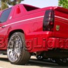 2002-2010 CHEVY AVALANCHE TAILLIGHTS TINT TAILLAMPS SMOKE TAIL LIGHTS LAMPS CHEVROLET