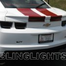 2010 2011 CHEVY CAMARO TAILLIGHTS TINT TAILLAMPS TAIL LIGHTS LAMPS SMOKE CHEVROLET