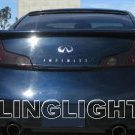 2003-2007 Infiniti G35 Taillights Tint Taillamps Smoke Tail Lights Lamps Kit 2004 2005 2006