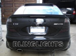 2005 Mercedes C230K Kompressor Sports Coupe Taillights Tint Taillamps Tail Lights Lamps w203 C 230K