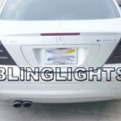 2005 2006 2007 Mercedes C270 CDI Taillights Tint Taillamps Tail Lights Lamps Smoke w203 C 270