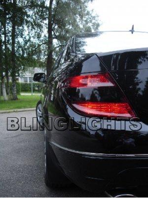 2008 2009 2010 Mercedes C230 Kompressor Taillights Tint Taillamps Smoke Tail Lights Lamps w204 C230K