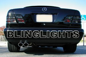 1996 1997 Mercedes-Benz E300 Diesel Taillights Tint Taillamps Tail Lights Lamps E 300 w210 e-class