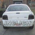 1998 1999 Dodge Neon Taillights Tint Taillamps Smoke Tail Lights Lamps ex r/t rt