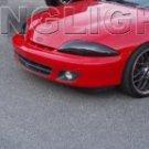 2000 2001 2002 Chevy Cavalier Headlamps Tint Headlights Smoke Chevrolet Head Lamps Lights Film Kit