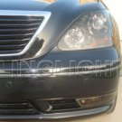 2001 2002 2003 2004 2005 2006 Lexus LS430 Headlamps Tint Headlights Film Head Lamps Lights Smoked
