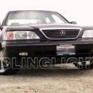 1996 1997 1998 Acura RL Xenon Fog Lamps Driving Lights Kit