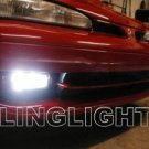 1992 1993 1994 Plymouth Laser Xenon Fog Lights Bumper Driving Lamps Kit Pair