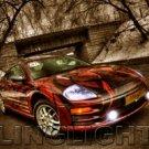2000 2001 2002 Mitsubishi Eclipse Angel Eyes Fog Lights Halos Driving Lamps Kit