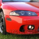 1997 1998 1999 Mitsubishi Eclipse Xenon Fog Lights Driving Lamps Kit