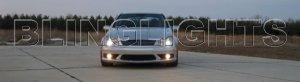 2005 2006 2007 Mercedes C55 AMG Xenon Fog Lights Driving Lamps Kit C 55