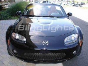 2006 2007 2008 Mazda Miata MX5 Xenon Bumper Fog Lights Driving Lamps Kit MX-5