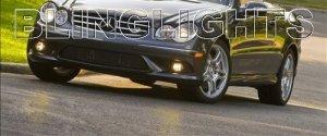 2009 Mercedes-Benz CLK550 Xenon Fog Lights Driving Lamps FogLamps Kit CLK 550