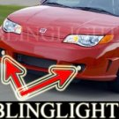 2003-2007 SATURN ION RED LINE FOG LIGHTS lamps 2004 2005 2006