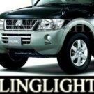 2006-2009 MITSUBISHI PAJERO TAILLIGHTS LAMPS Smoke glx 2007 2008