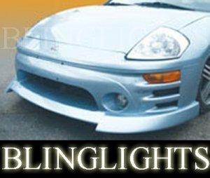2000 2001 2002 2003 2004 2005 Mitsubishi Eclipse Erebuni Body Kit Bumper Fog Lights Driving Lamps