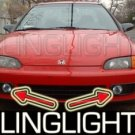 1992-1995 HONDA CIVIC LED FOG LIGHTS hatchback coupe 1993 1994