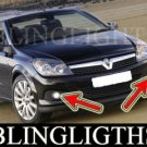 2009 VAUXHALL ASTRA TWINTOP FOG LIGHTS PAIR exclusiv xp