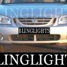 2000-2009 KIA CERATO FOG LIGHTS sedan hatch 2001 2002 2003 2004 2005 2006 2007 2008