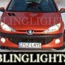1998-2005 PEUGEOT 206 FOG LIGHTS PAIR rc gti 180 sw 1999 2000 2001 2002 2003 2004