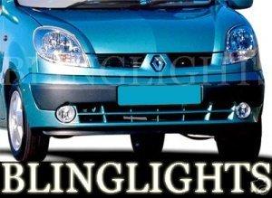 1997-2009 RENAULT KANGOO FOG LIGHTS expression authentique 2001 2002 2003 2004 2005 2006 2007 2008