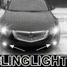 2009 2010 2011 Acura TSX JDM Xenon Fog Lamps LED Driving Lights Kit