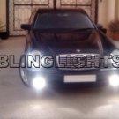 1998 1999 Mercedes-Benz E300 Turbodiesel Fog Lights Driving Lamps Kit E 300 I6 turbo diesel E-Class