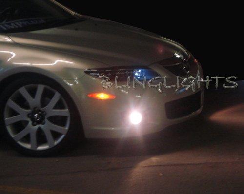 2006 2007 2008 Mazda6 JDM Xenon Fog Lamps with LED Day Time Running Lights DRLs Lighting Mazda 6 Kit
