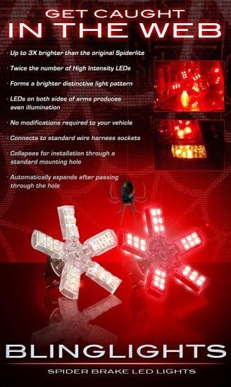 2004-2010 Dodge Durango White LED Spider Brake Lights Bulbs Stop Lamps Brakelights Brakelamps
