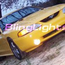Fog Lamps fog lights foglamps foglights kit for 1994-1998 Ford Mustang Cobra