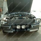Large Grille Fog Lights Lamps for Ford Mustang Eleanor Shelby GT-500 Fastback