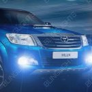 White Halo Fog Lamp Driving Light  for 2014-2018 Toyota Hilux Invincible