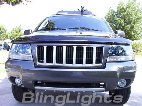 Xenon Fog Lights lamps foglamps foglights kit for 2004-2010 Jeep Grand Cherokee