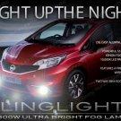 Xenon Halogen Fog Lamps Lights Kit Set for 2014 2016 Nissan Versa Note pair